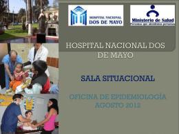 Diapositiva 1 - Hospital Nacional Dos de Mayo
