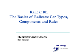 Railcar 101 - FreightCar Rail Services