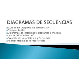 DIAGRAMAS DE ESTADOS