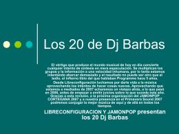 Los 20 de Dj Barbas