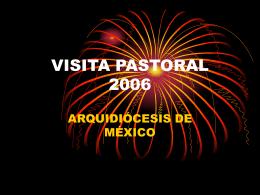 VISITA PASTORAL 2006