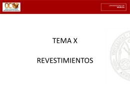 TEMA X