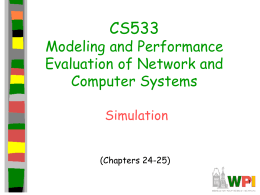 cs533 Simulation