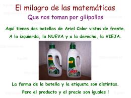 AG2- El milagro de las matematicas