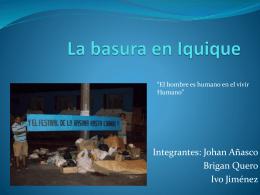 La basura en Iquique