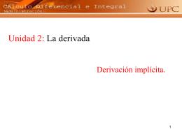 Calculo diferencial e integral (ADM)