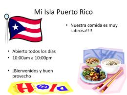 Mi Isla Puerto Rico