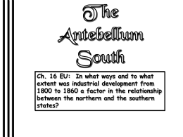The Antebellum South - Grapevine Colleyville …
