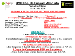XVIII Cto. De Euskadi Absoluto Padeleku (Vitoria) 11