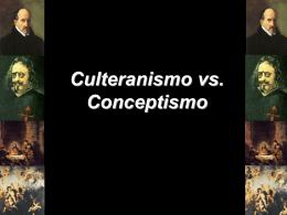Culteranismo vs. Conceptismo