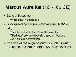 Marcus Aurelius (161