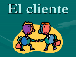 El cliente - .:: GEOCITIES.ws