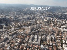 Jerusalem - Fichier PPS