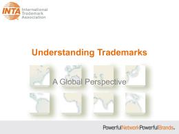 INTA Understanding Trademarks Presentation