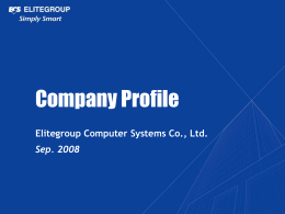 Company Profile file