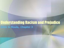 Understanding Racism and Prejudice - Winston
