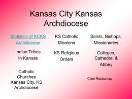 Kansas City Kansas Archdiocese - ArchKCK