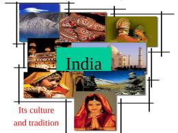 India - En73kleen's Weblog