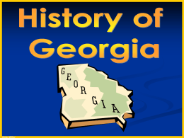 History of Georgia to fix2