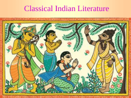 Classical Indian Literature