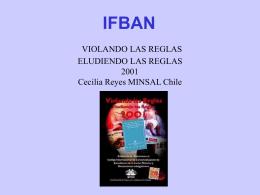 VIOLANDO LAS REGLAS ELUDIENDO LAS REGLAS 2.001
