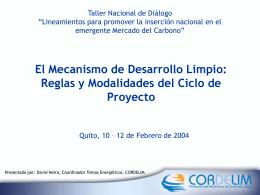 "Taller Nacional de Dialogo ""Lineamientos para promover la"
