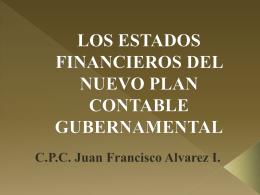 LOS ESTADOS FINANCIEROS DEL NUEVO PLAN …