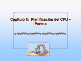 Module 6: CPU Scheduling