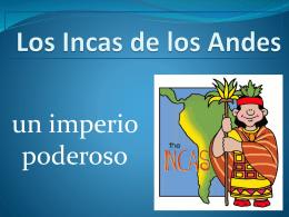 Los Incas de los Andes - Tenafly Public Schools