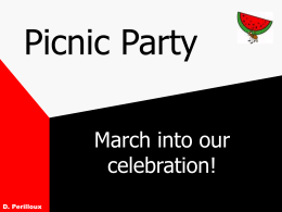 Picnic Party - Southeastern Louisiana University