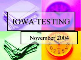 IOWA TESTING - PrincipalsPage
