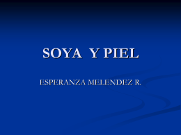 SOYA Y PIEL