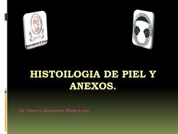 Histoilogia de piel y anexos.