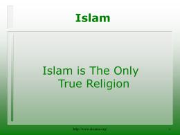 Islam - alsunna.org