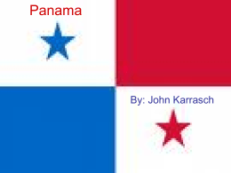 Panama - Wikispaces