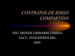 CONTRATOS DE RISGO COMPARTIDO