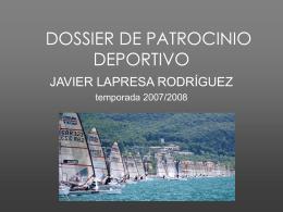 DOSSIER DE PATROCINIO DEPORTIVO