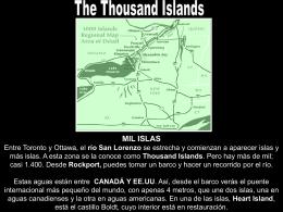 Thousand Islands - ...:: Meilės Svajos :: Viskas apie
