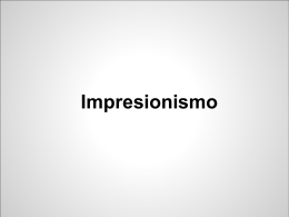 Impresionismo - Panorama del Arte