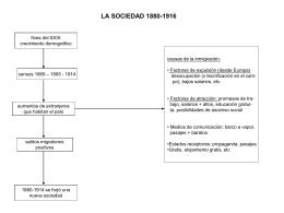 LA SOCIEDAD 1880-1916