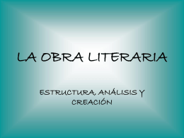 LA OBRA LITERARIA