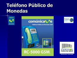 Telefono Publico de Monedas