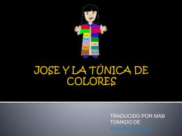 JOSE Y LA TUNICA DE COLORES