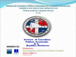 Diapositiva 1 - MGI Dominicana