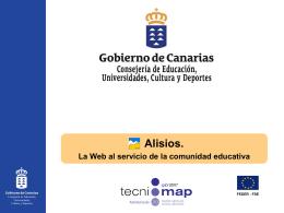 Alisios - Gobierno de Canarias