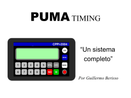 PUMA TIMING - AUTOMOVILSPORT.COM