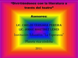 PROYECTO DE AREA