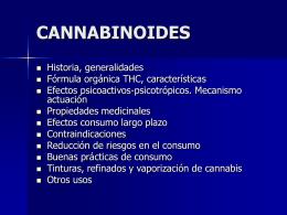 CANNABINOIDES - Esperanza CSC