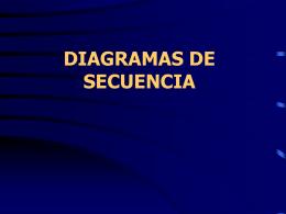 ELEMENTOS CLAVES DE LOS DIAGRAMAS DE SECUENCIA