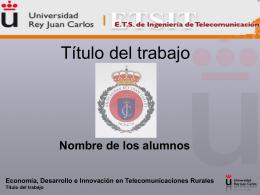 Diapositiva 1 - Prof. Alberto Romero Ania
